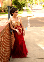 Stephanie Walls - Prom 2015